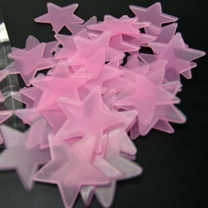 (BUY 2 FREE 1) Glowing Star Home Decoration (Pink)- TY0096