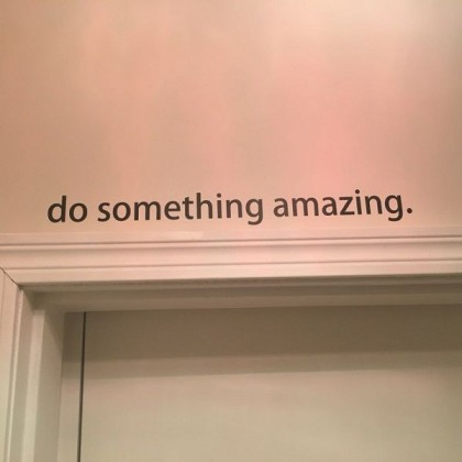 Office Inspirational Do Something Amazing- TY1269