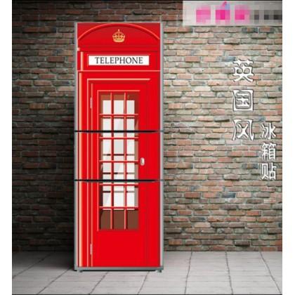 British Style refrigerator sticker cover stickers - Ra204