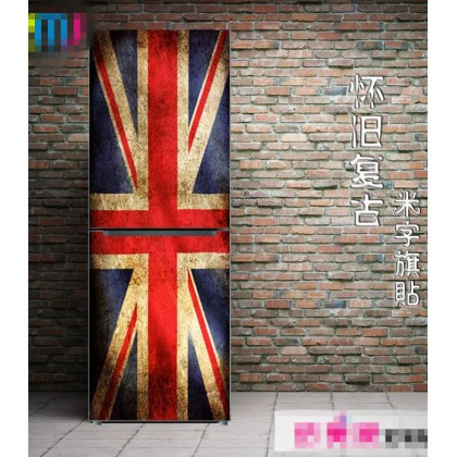 Creative UK Flag Refrigerator Sticker Cover Stickers