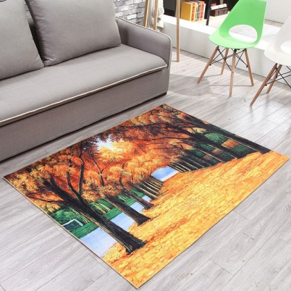 Creative 3D carpet home decoration (The Road Of Gold) - Code: MM805