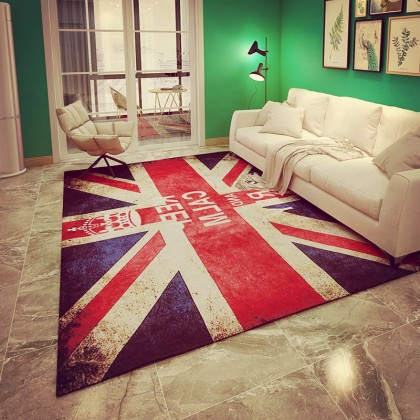 Creative 3D carpet home decoration (Keep Calm And Carry On) - Code: MM812