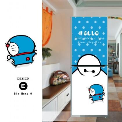 The Big Hero 6 Refrigerator refurbished sticker