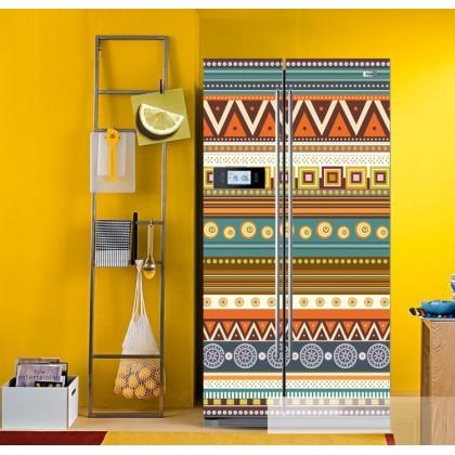 National style refrigerator refurbished stickers