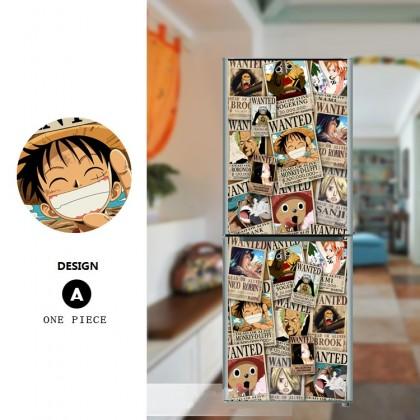 One Piece refrigerator refurbished stickers