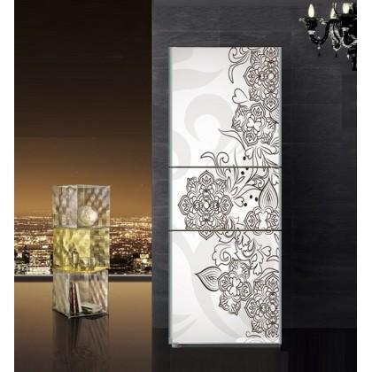 Retro European decorative pattern refrigerator refurbished stickers