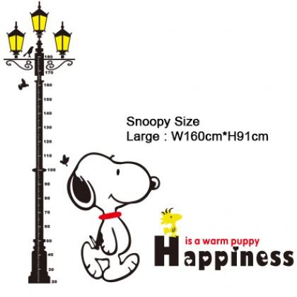 3D Acrylic Street Light Height Measurement Sticker - AC081