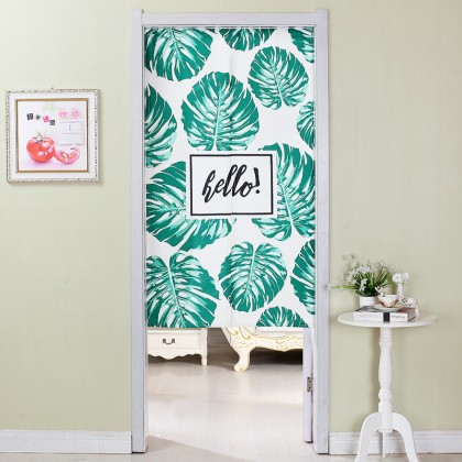Hello Banana leaf home decoration door curtain
