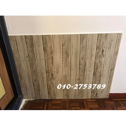 (Wood) Wood Design Contact Paper PVC Waterproof Wallpaper Sticker