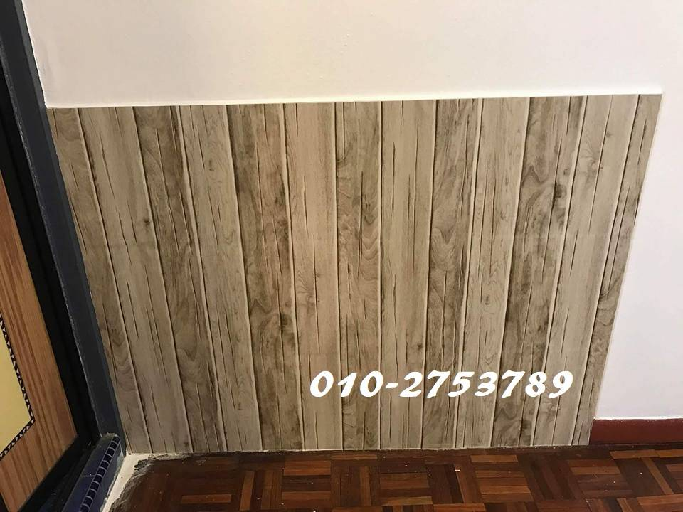 Wood Design Contact Paper Pvc Waterproof Wallpaper Sticker