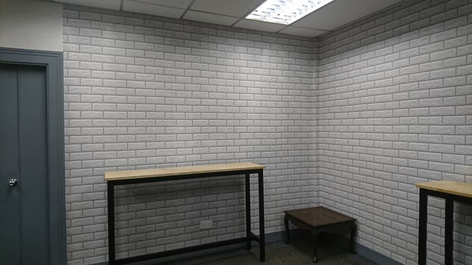 Brick White Brick Pattern Peel And Stick Wallpaper Contact Paper Or Wall Paper Self Adhesive Wallpaper