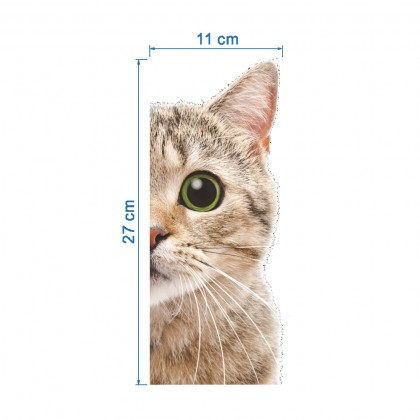 Kitty 2D Removable Wall Sticker- TYZY294
