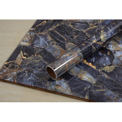 (Marble) Marble Contact Paper PVC Waterproof Removable Wallpaper Sticker
