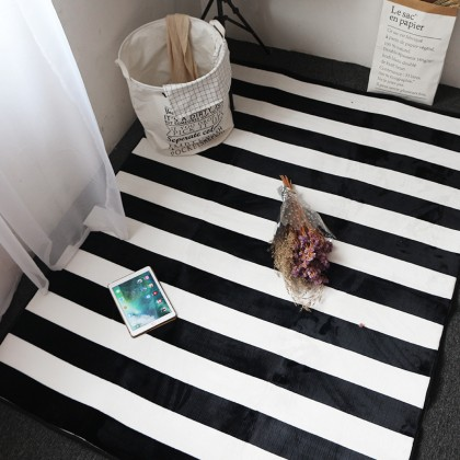 Black And White Carpet Door Mats Home Decoration