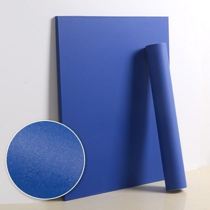 Matte Blue Contact Paper Waterproof Wallpaper Sticker