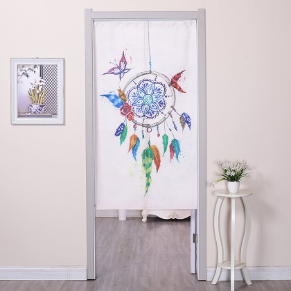 Colorful Dream Catcher Wind Chimes Feather Home Decoration Door Curtain