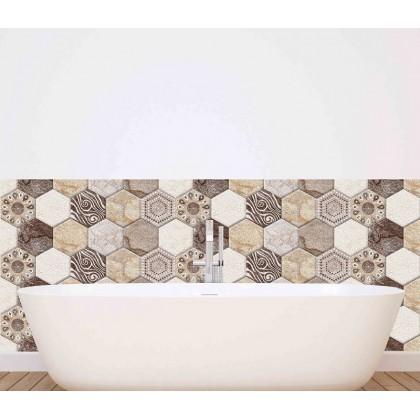 3D brick kitchen tiles wall art decoration removable sticker