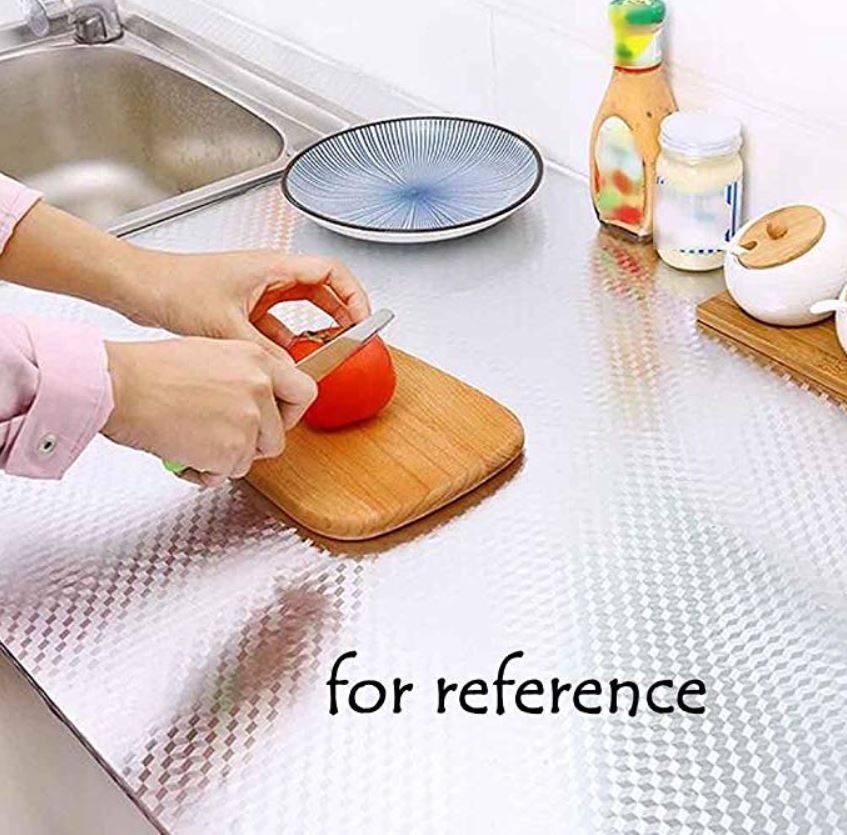 Aluminium Foil Paper Mats Oil Kitchen Backsplash Wallpaper Contact Paper Stickers Kitchen Stickers Self Adhesive Kitchen