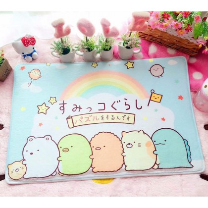 Cute cartoon characters home decoration carpet