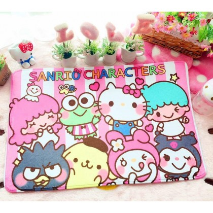 Cute sanrio characters home decoration carpet