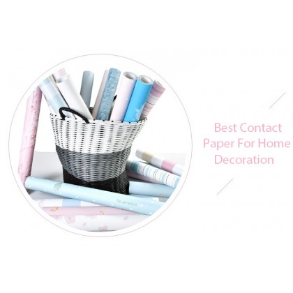 (Plain) Pink Feathers Background Contact Paper PVC Waterproof Wallpaper Sticker