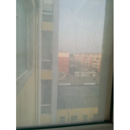White mesh glass film dot window stickers glass stickers translucent film
