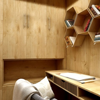 (Wood) Wood Design Contact Paper PVC Waterproof Wallpaper Sticker