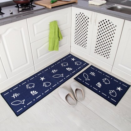 Creative Kitchen Carpet Combo Set Home Decoration (Japanese Style)