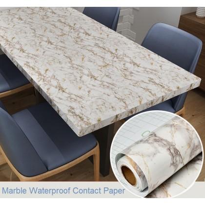 Fashion Design Marble Contact Paper DIY Waterproof PVC Wallpaper Sticker