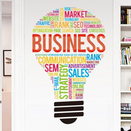 Business Office Inspirational Light Bulb- TYF053