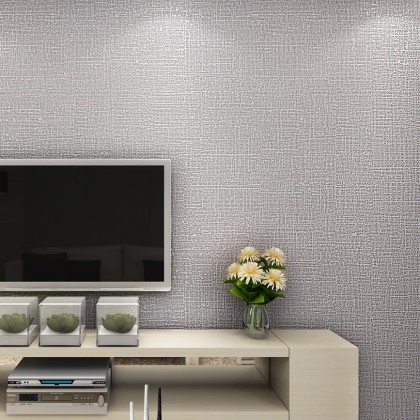 Plain grey background home decoration wallpaper