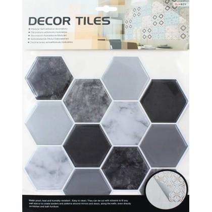 Mosaic Pattern Waterproof 3D Tiles Decoration Wall Sticker