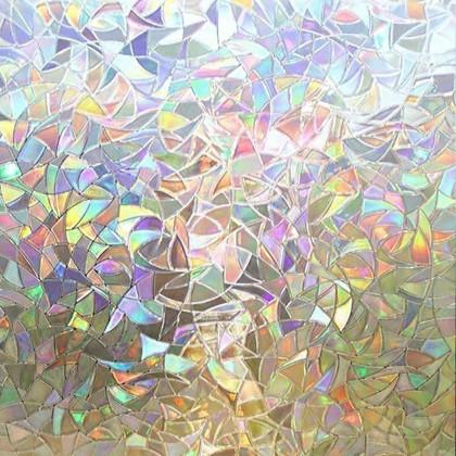 3D Refractive Glass Sticker Window Tint Shading Film