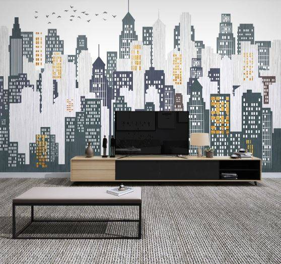 City Urban 275P WALL MURAL PHOTO WALLPAPER PICTURE