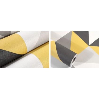 Lattice square wallpaper