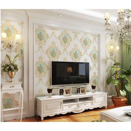 Idyllic American Mirror Flower Wallpaper