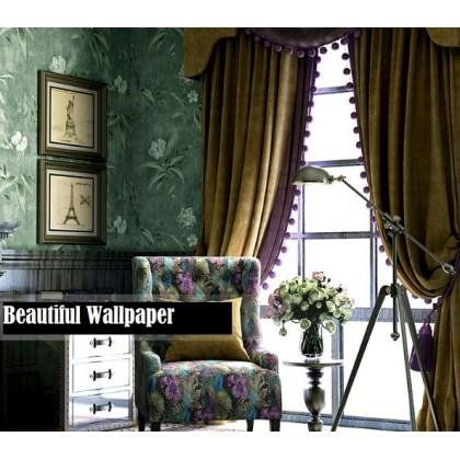 American country non-woven wallpaper