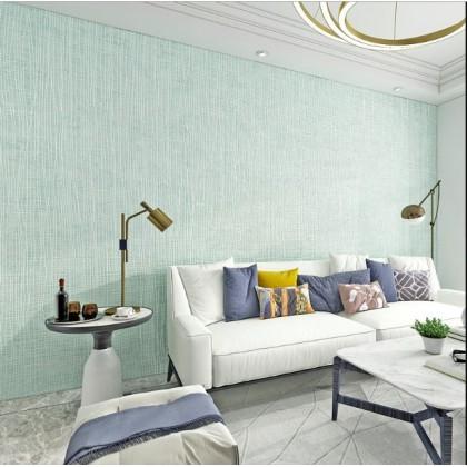 Non-woven solid color wallpaper