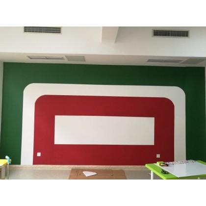Wine red retro red wallpaper