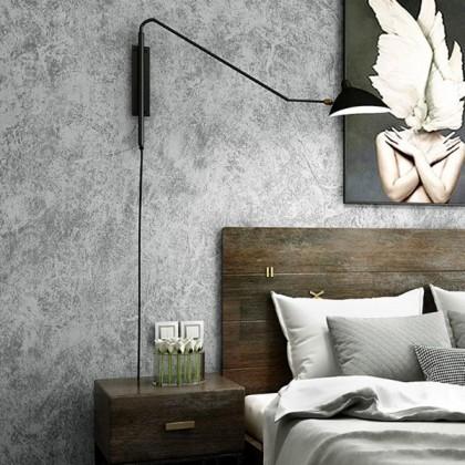 Industrial wind cement grey wallpaperr