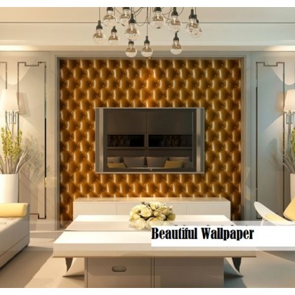 Yellow Colour Bedside soft pack wallpaper