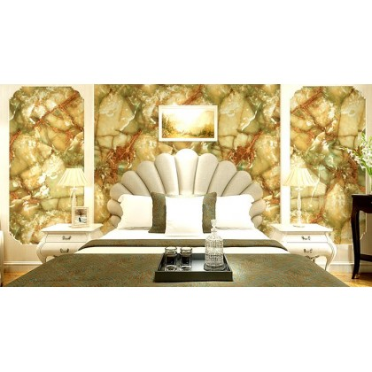 Realistic marble stone ancient rock wallpaper