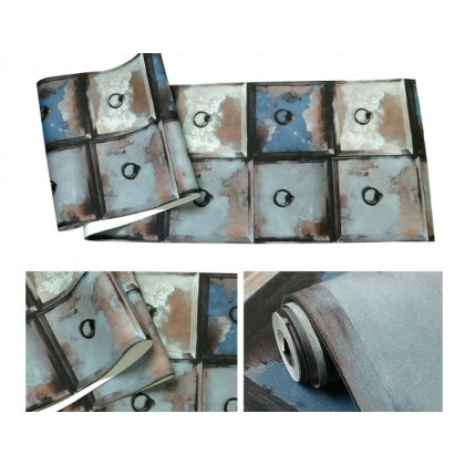 Tin rust drawer wallpaper