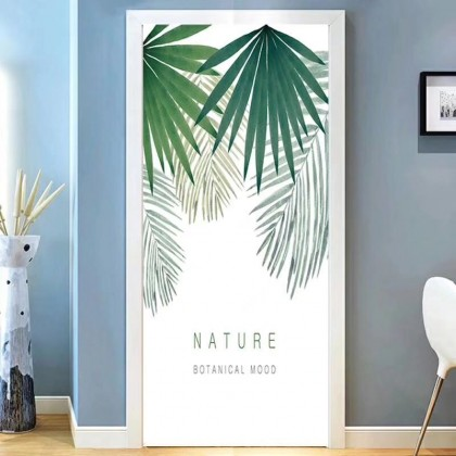 [90cm x 200cm] Beautiful Feng Shui Painting Sticker 3D Photo Wallpaper Airbnb Door Mural Living Room Bedroom Creative DIY Door Sticker Home Decoration