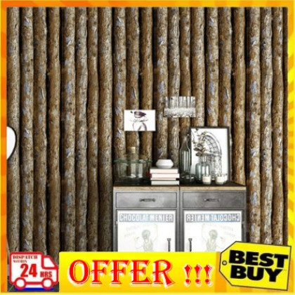 3D Personalized Trees Wood Design Shop, Cafe and Home Decoration Wallpaper