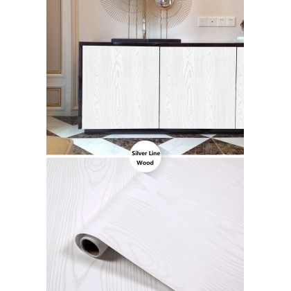 Thick White Wood Grain Panel Contact Paper Furniture Redo Vinyl Peel-Stick Paper for Shelf Liner Drawer Shelf Cabinets Wallpaper,Self-Adhesive Removable Sticker