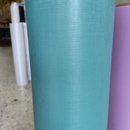 (Plain) Matte Emerald Green PVC Contact Paper Wallpaper Sticker