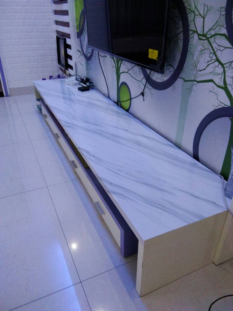 Marble Matte White Marble Design Contact Paper Refurbished Self Adhesive Pvc Waterproof Wallpaper Sticker Covering