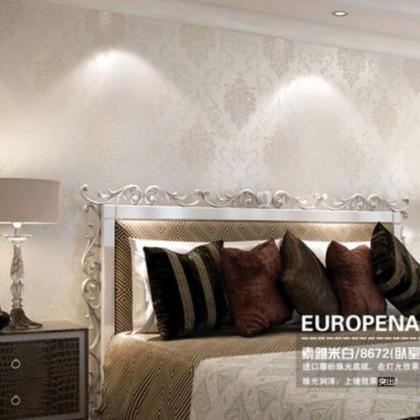 3D European Style Continental Damascus Design  Non-Woven Wallpaper