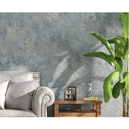 Simple plain wallpaper Japanese style diatom mud living room dining room background wall Nordic 3d cement gray wallpaper waterproof